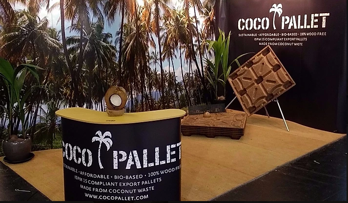 Coconuts helping people to become more environmentally friendly